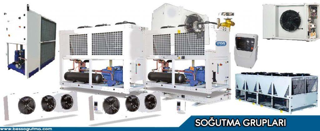 Soğutma Grupları; Merkezi Sistemler, Bireysel Sistemler, Endüstriyel Şoklama